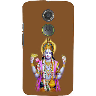 ifasho Lord Vishnu Back Case Cover for Motorola MOTO X2