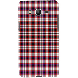 ifasho Colour Full Squre Pattern Back Case Cover for Samsung Galaxy Grand Prime