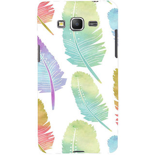 ifasho Animated  Feather Back Case Cover for Samsung Galaxy Grand Prime