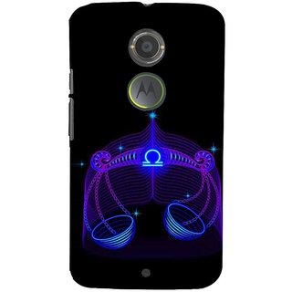 ifasho zodiac sign Libra Back Case Cover for Motorola MOTO X2