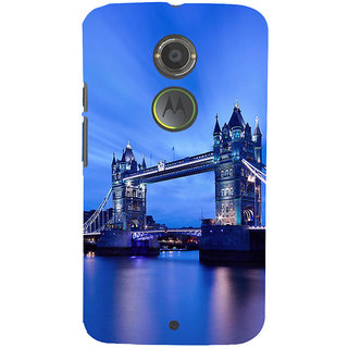 ifasho London Bridge Back Case Cover for Motorola MOTO X2