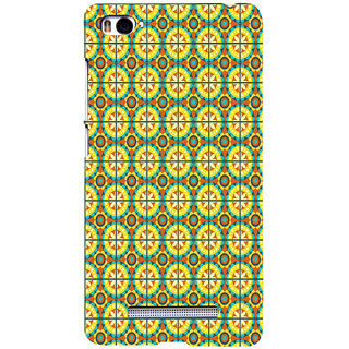 ifasho Animated Pattern design colorful flower in royal style with lines Back Case Cover for Redmi Mi4i