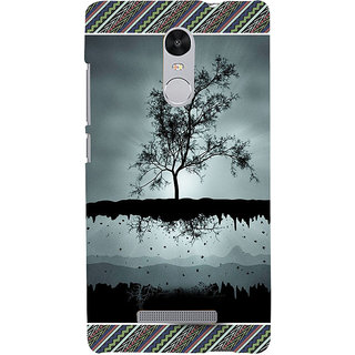 ifasho 3Dee on air animated beautiful Back Case Cover for REDMI Note 3