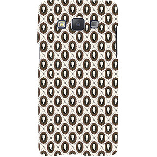 ifasho Animated  Royal design with Queen head pattern Back Case Cover for Samsung Galaxy A7