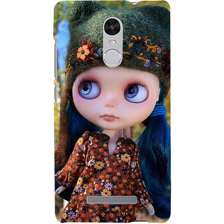 ifasho Cute Girl Back Case Cover for REDMI Note 3