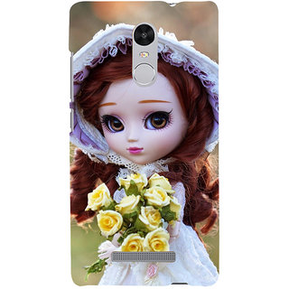 ifasho Girl with flower in hand Back Case Cover for REDMI Note 3