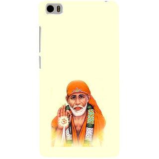 ifasho Shirdi wale Sai Baba Back Case Cover for Redmi Mi5