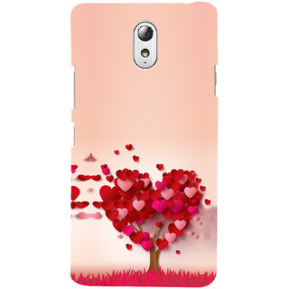 ifasho Animated Pattern With Love and heart and Ishq Back Case Cover for Lenovo Vibe P1M