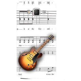 ifasho Modern Art Design Pattern Music Ins3Dument Guitar Back Case Cover for Samsung Galaxy Grand3