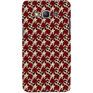 ifasho Animated Pattern rose flower with leaves Back Case Cover for Samsung Galaxy Grand Prime