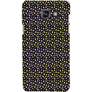 ifasho Animated Pattern colourful littel stars Back Case Cover for Samsung Galaxy A7 A710 (2016 Edition)
