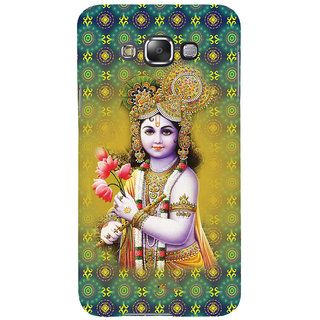 ifasho Lord Krishna in bal avtar Back Case Cover for Samsung Galaxy E7