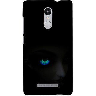 ifasho Girl with shining eyes Back Case Cover for REDMI Note 3