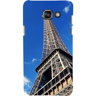 ifasho Effile Tower Back Case Cover for Samsung Galaxy A7 A710 (2016 Edition)