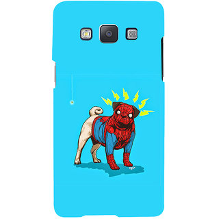 ifasho Dog wearing spiderman dress animated Back Case Cover for Samsung Galaxy A7