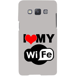 ifasho I love my wife quotes Back Case Cover for Samsung Galaxy A7