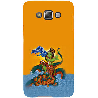 ifasho krishna Dancing on kalia serpant Back Case Cover for Samsung Galaxy E7