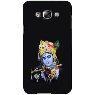 ifasho Lord Krishna with Flute Back Case Cover for Samsung Galaxy E7