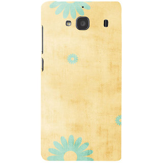 ifasho Animated Pattern colrful 3Daditional design cloth pattern Back Case Cover for Redmi 2S