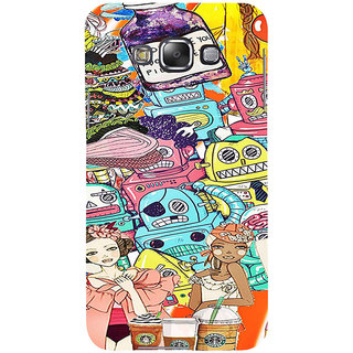 ifasho Gang Of Girls Back Case Cover for Samsung Galaxy E7