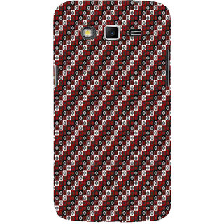 ifasho multi color 3Diangle rectangle and circle Pattern Back Case Cover for Samsung Galaxy Grand