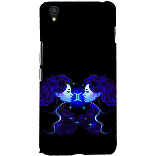 ifasho zodiac sign gemini Back Case Cover for One Plus X