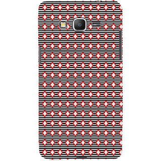 ifasho Animated Pattern of diagonal on black s3Dipes  Back Case Cover for Samsung Galaxy Grand Prime
