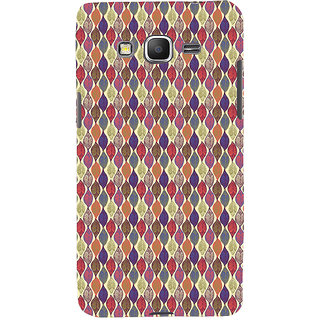 ifasho Animated Pattern colrful design leaves Back Case Cover for Samsung Galaxy Grand Prime