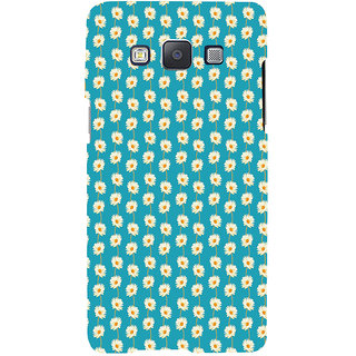 ifasho Pattern white flower design Back Case Cover for Samsung Galaxy A7