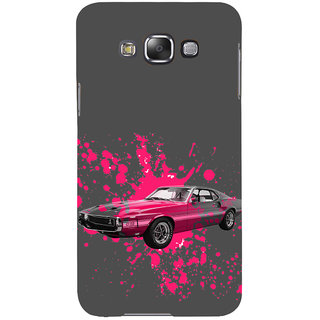 ifasho Vintage Car Back Case Cover for Samsung Galaxy E7