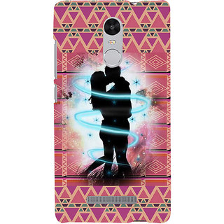 ifasho couple kissing Back Case Cover for REDMI Note 3