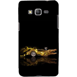 ifasho crocodile animated car Back Case Cover for Samsung Galaxy Grand Prime