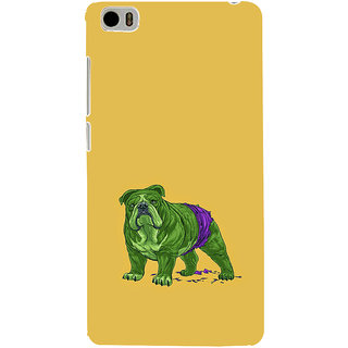 ifasho Animated Design Dog Back Case Cover for Redmi Mi5