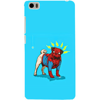 ifasho Dog wearing spiderman dress animated Back Case Cover for Redmi Mi5