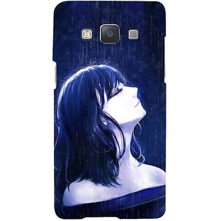 ifasho Girl in rain Back Case Cover for Samsung Galaxy A7