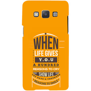 ifasho quotes on success Back Case Cover for Samsung Galaxy A7