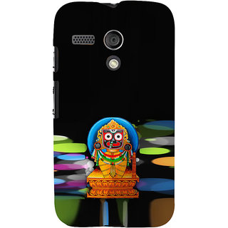 ifasho Jagannath Back Case Cover for Moto G