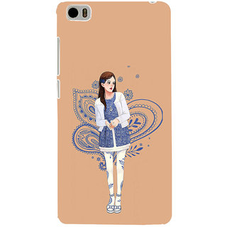 ifasho Beautiful Girl Back Case Cover for Redmi Mi5