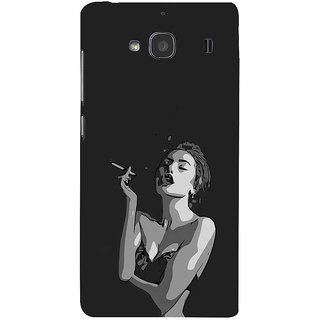 ifasho Smoking girl Back Case Cover for Redmi 2S