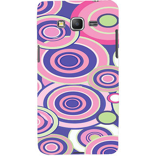 ifasho Animation Clourful Circle Pattern Back Case Cover for Samsung Galaxy Grand Prime