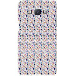 ifasho Modern Art Design Pattern with Lot Of small heart Back Case Cover for Samsung Galaxy A7