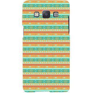 ifasho Animated Pattern colrful 3Daditional design Back Case Cover for Samsung Galaxy A7