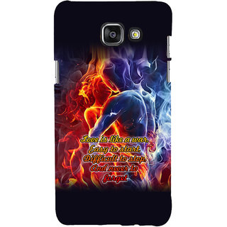 ifasho Love Quotes for love Back Case Cover for Samsung Galaxy A7 A710 (2016 Edition)