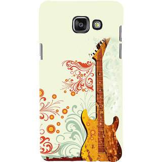 ifasho Modern Art Design Pattern Music Ins3Dument Guitar Back Case Cover for Samsung Galaxy A5 A510 (2016 Edition)