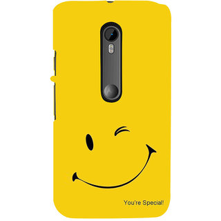 ifasho You are special Back Case Cover for Moto X Force