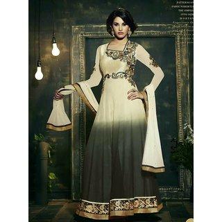Women's Faux Crepe Salwar Suit