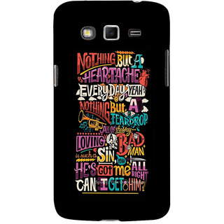 ifasho Love Quotes Back Case Cover for Samsung Galaxy Grand