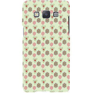 ifasho Animated Pattern design many small flowers  Back Case Cover for Samsung Galaxy A7