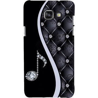 ifasho Modern Art Design Pattern Music symbol Back Case Cover for Samsung Galaxy A5 A510 (2016 Edition)