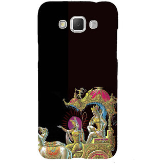 ifasho krishna driving Chariot of Arjun Back Case Cover for Samsung Galaxy Grand3